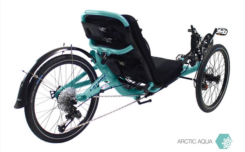 CATRIKE TRAIL Artic AQUA