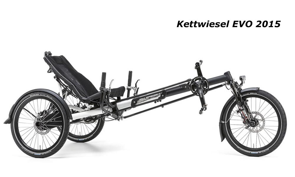 kettwiesel EVO Hase tricycle adulte tout suspendu