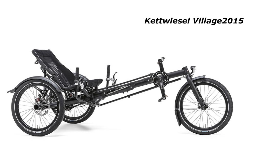 kettwiesel Village Hase tricycle adulte