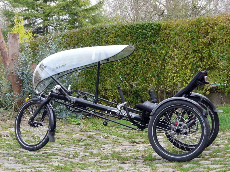 Le Streamer rend le tricycle Kettwiesel encore plus polivalent et utilisable quotidiennemt.